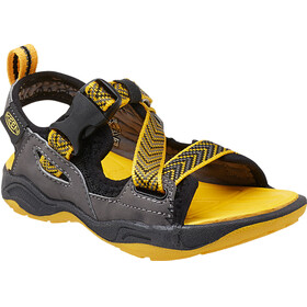 Keen Rock Iguana Sandals Children black/yellow